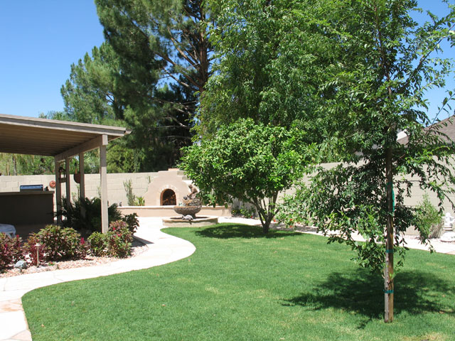 17-After-Back-Yard-Renovation-Hogan · Landscape Design In Phoenix - Phoenix Landscape Design Custom Landscaping Envirogreen