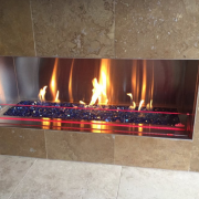 Linear Fireplace Gas