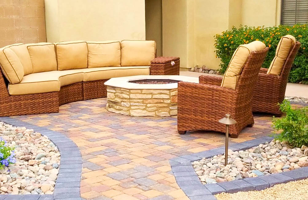 Sitting Area with Fire Pit