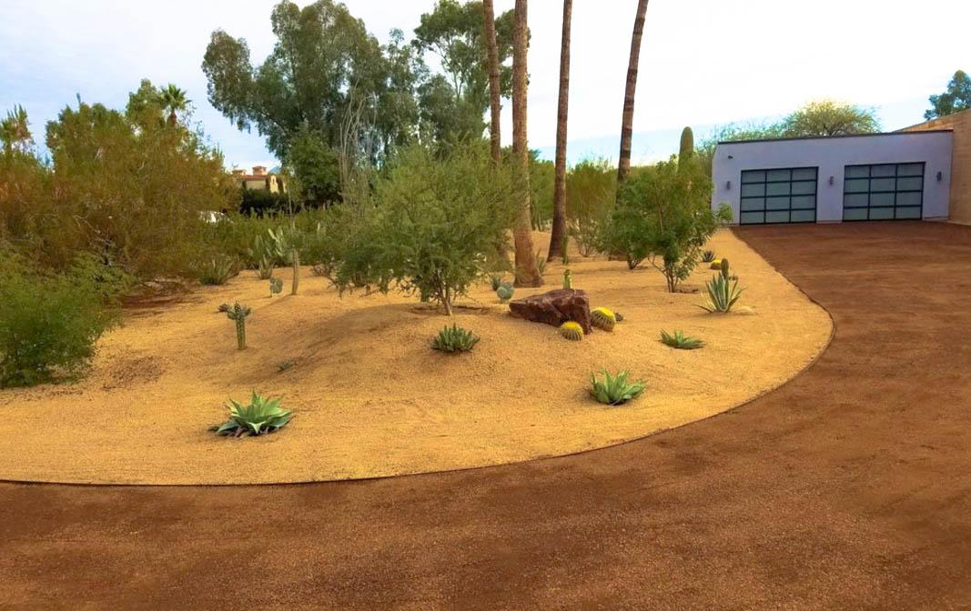 Desert Landscapes Driveway