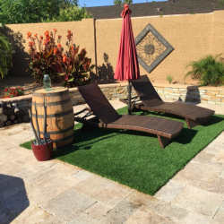 Sitting Area Artificial Grass