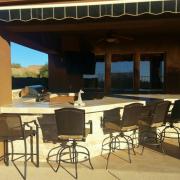 Bar Seating BBQ Island