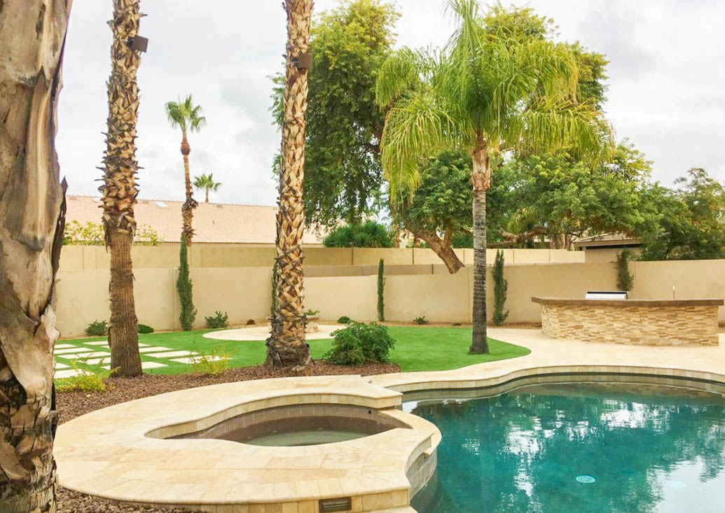 Backyard Landscape Design Phoenix
