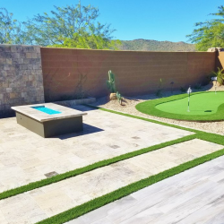 Artificial Grass and Putting Green