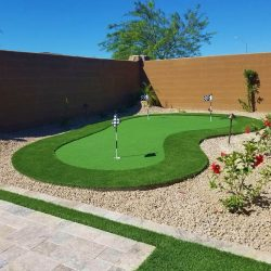 Custom Artificial Grass Putting Green