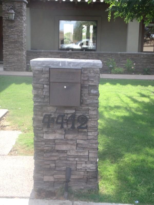 Custom Mailboxes Mailbox Designs Phoenix Scottsdale