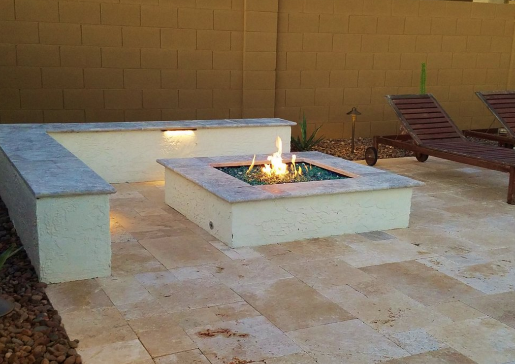 Fire Pit Outdoor Features