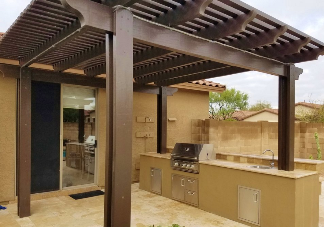 Pergola Outdoor Features