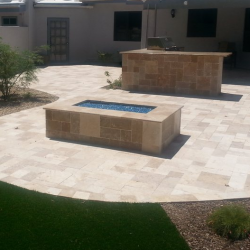 Fire Pit with Pavers