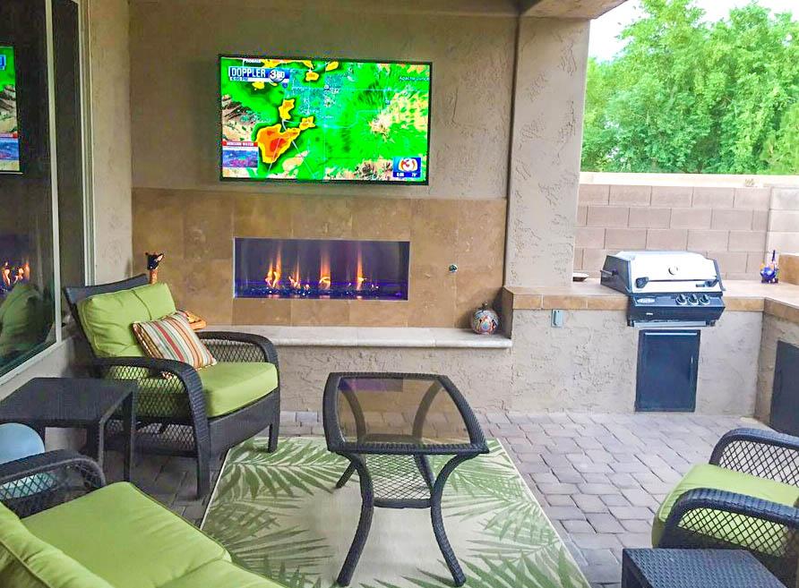 Outdoor Fireplace Outdoor Heating Scottsdale Phoenix