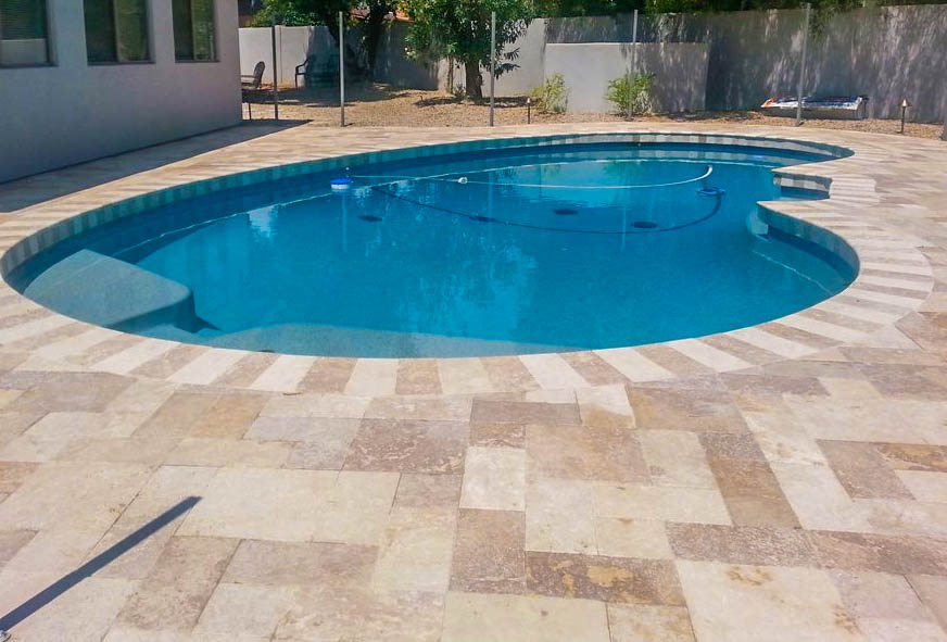 Phoenix Landscape Design Travertine