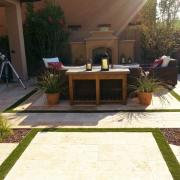 Backyard Living Space