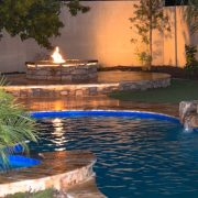 Fire Pit with Pool