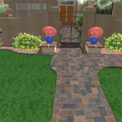 Front Yard Entrance