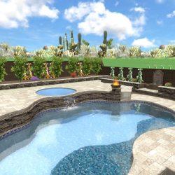 3D Rendering Pool